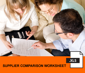deep drawn metal supplier compare worksheet