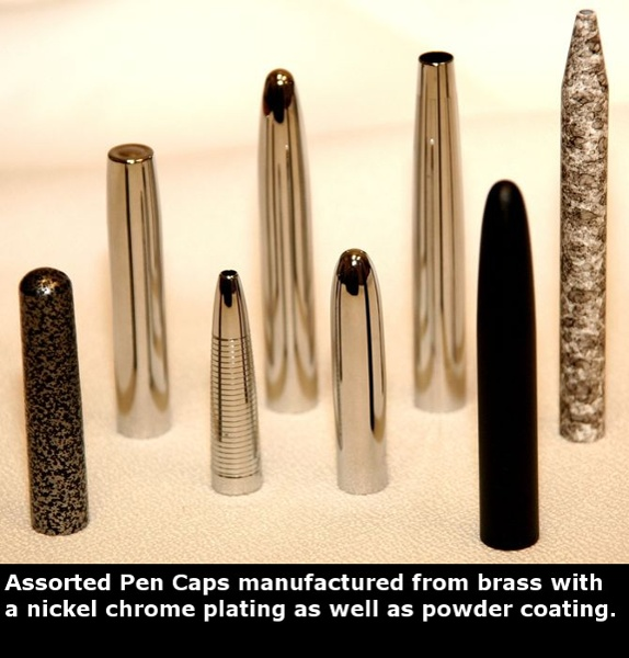 Deep Drawn Pens & Caps