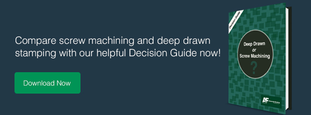 deep drawn vs screw machining decision guide